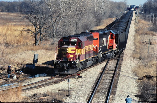 Wisconsin Central at Munger 2003