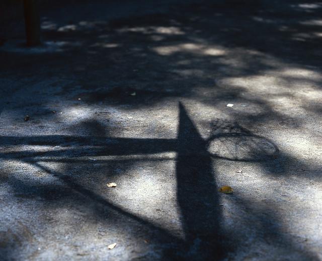 ゴールの影