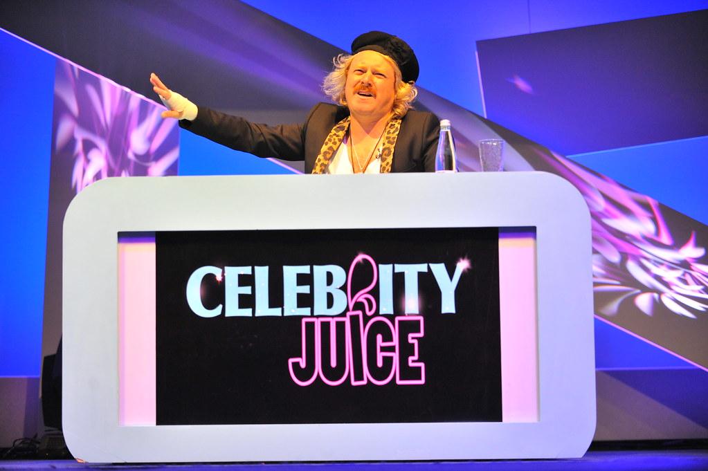 Celebrity Juice Audience - ALLEGRA AND FRUIT JUICE