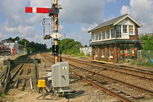 thetford signalbox semaphoresignalling absoluteblock thetfordsignalbox brecklandline