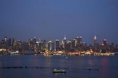 NYC Skyline from Weehawken, NJ #5