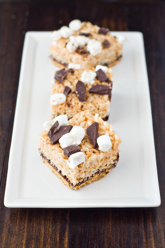 S'mores Rice Krispies Treats - Cook Like A Champion
