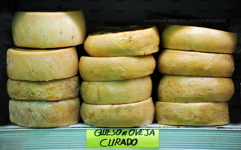 Spanish Estremadura cheese