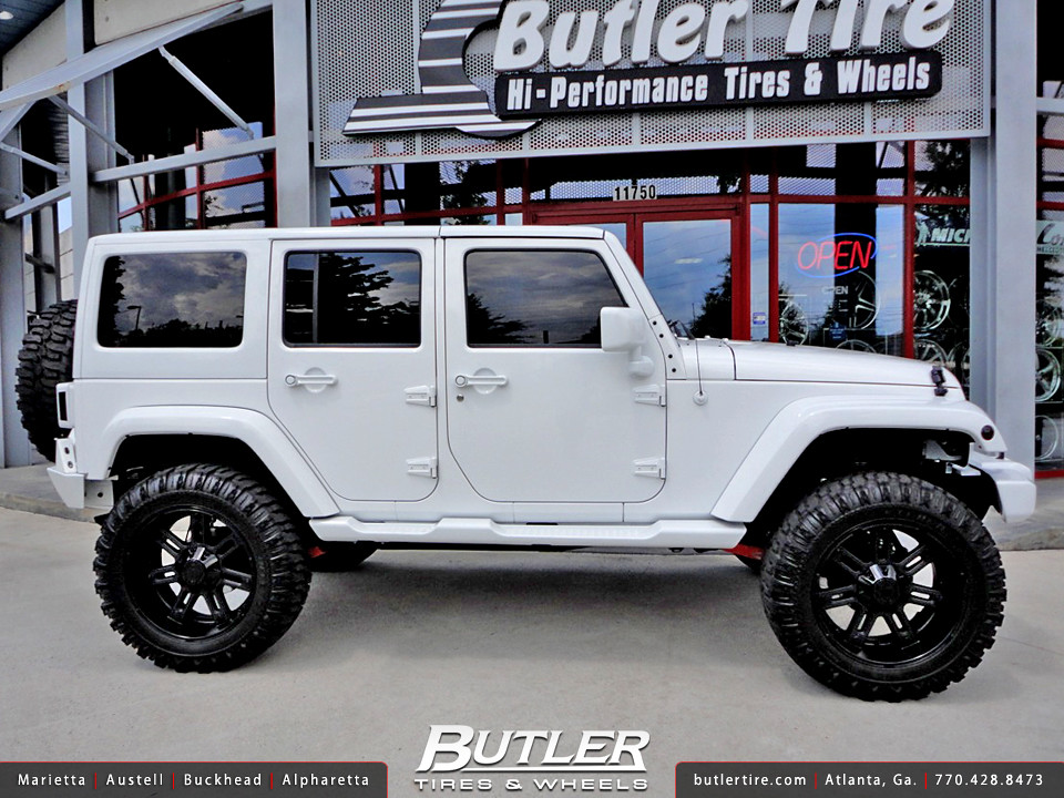 Exceptional Jeep Wrangler With 22in RBP 97R Wheels And 37in Tires