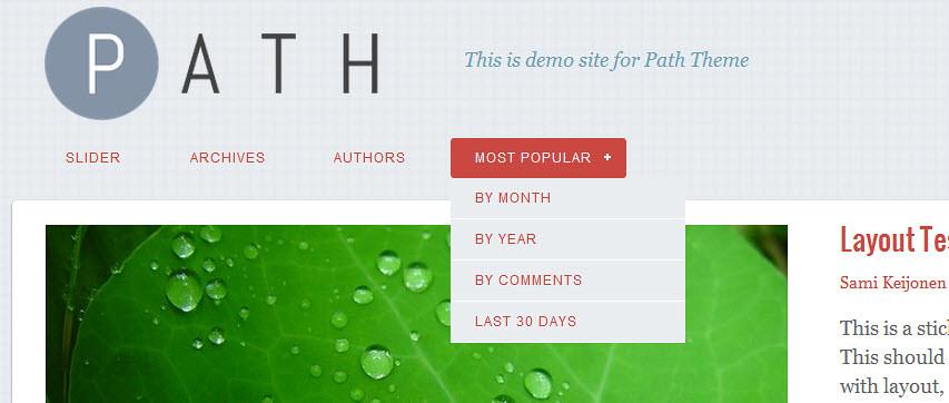 Path Theme - Một theme WordPress miễn phí trên cả tuyệt vời 198