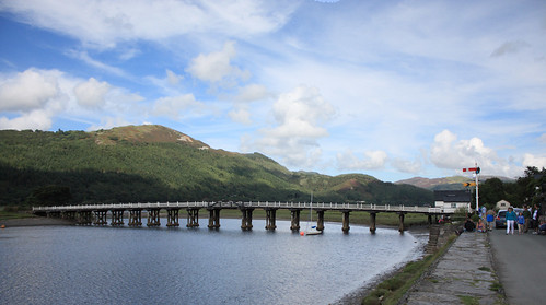 Toll bridge, Penmaenpool