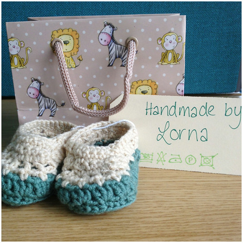 Baby booties for Kylie