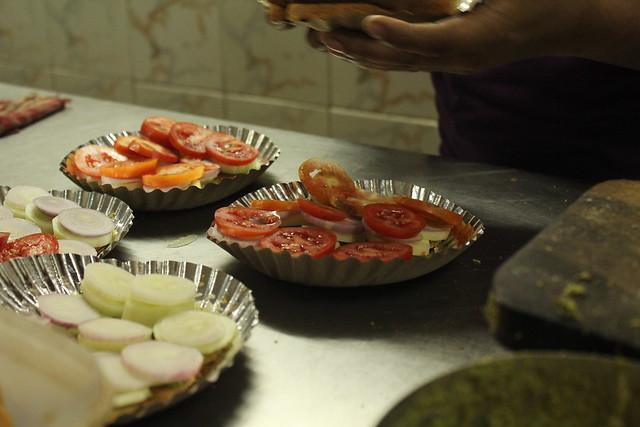 Mint Food trail Murukku Sandwich