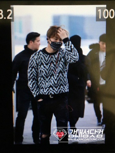 Big Bang - Incheon Airport - 27nov2015 - kangdot0426 - 07