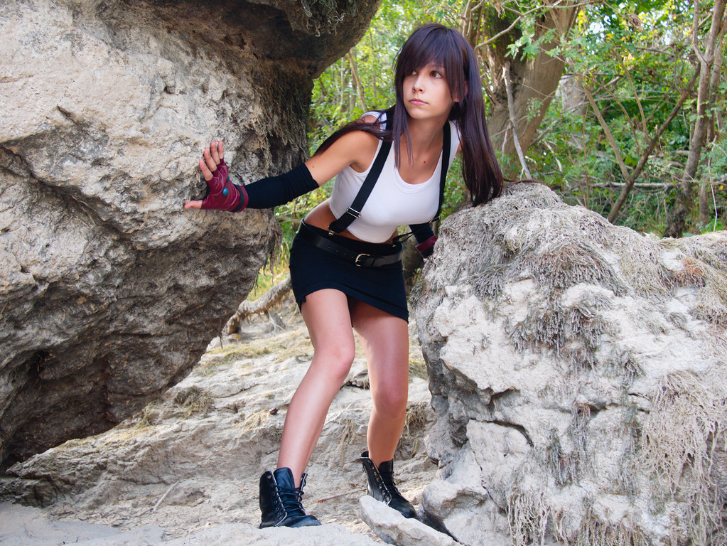 related image - Shooting Tifa Lockhart - Final Fantasy - Gorges de l'Hérault - 2016-08-17- P1520539