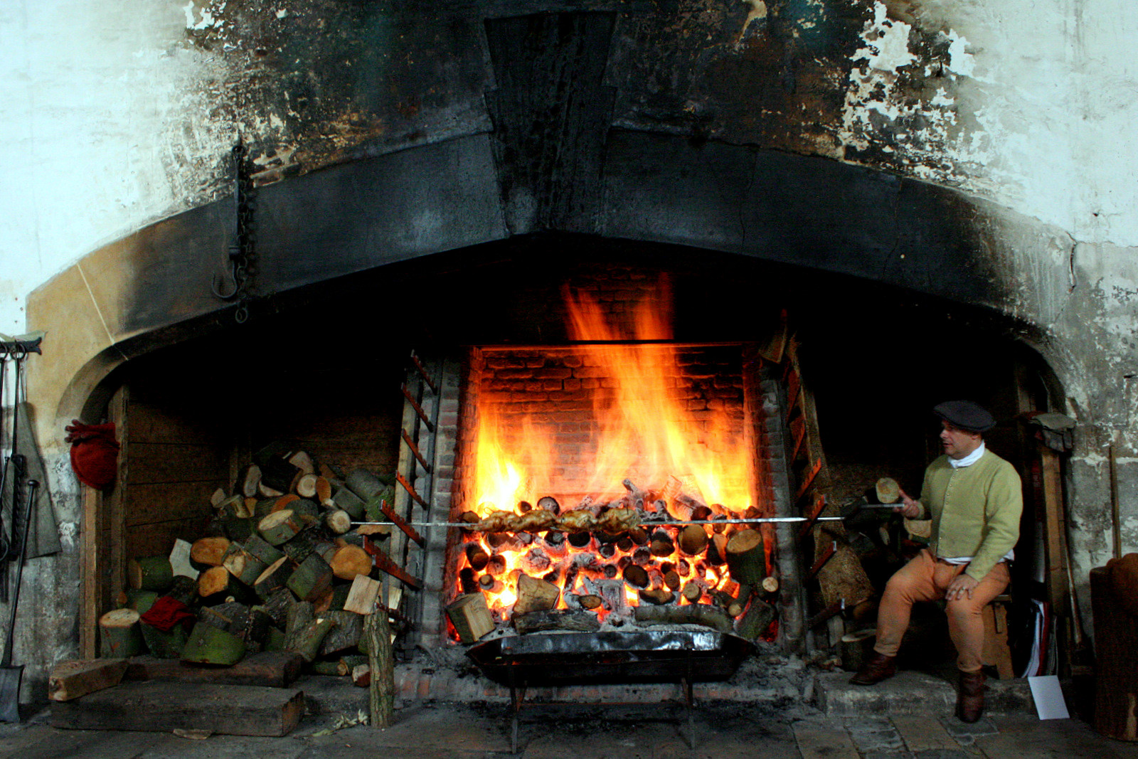 The Great Fires at Hampton Court kitchens. Credit Kotomi Creations