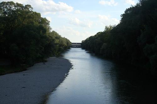 Isarkanal St. Emmeran Brücke