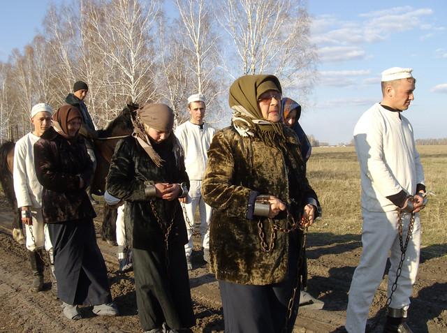 Экскурсия «По Московско–Сибирскому тракту»,  деревня Большие Уки,  360 км от Омска