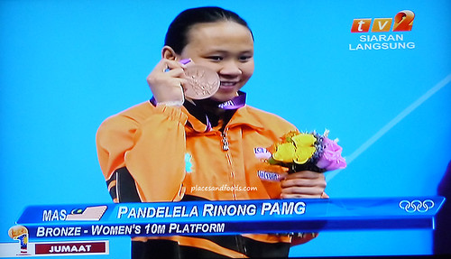 PAMG Pandelela Rinong SCORED BRONZE FOR MALAYSIA FOR 10M WOMEN DIVING!!!!!