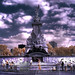 Victoria Monument in Infrared