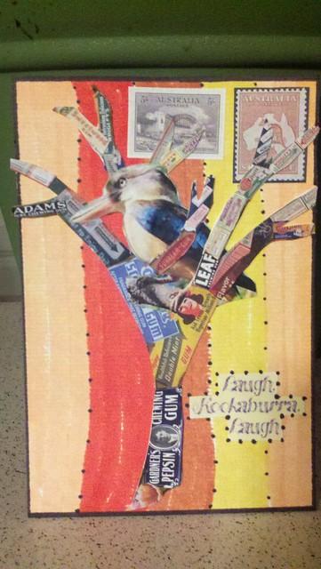 Postcard- Kookaburra