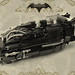 Blk Trax Train - Steampunk for Bat von Batten (also known as Bruce Wayne) aka Batman.