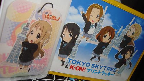 2012/08 けいおん!東京スカイツリーグッズ