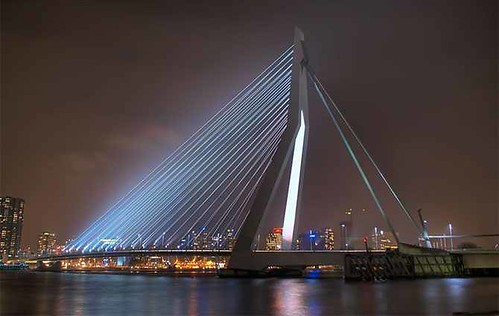Erasmusbrug (Rotterdam, Netherlands)bridges (4)