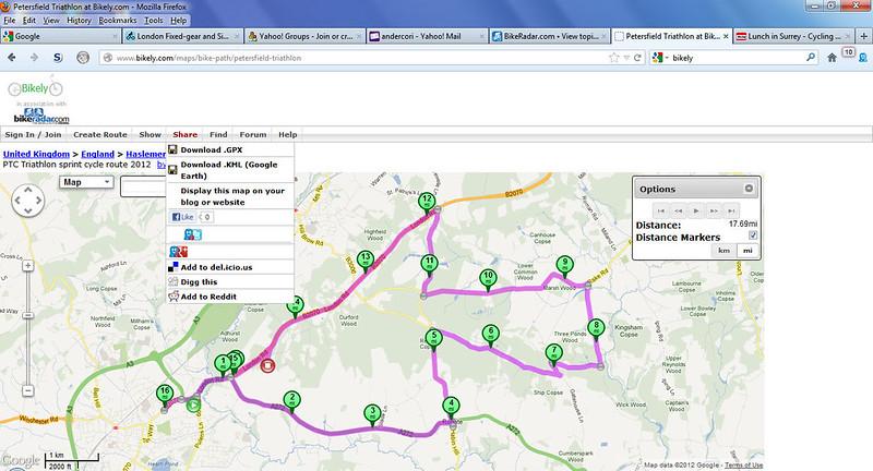 Downloading Bile Routes To Garmin Connect BikeRadar Forum - Garmin us cycle map