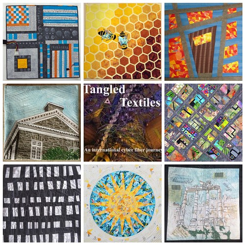 Tangled Textiles, challenge 7; architecture