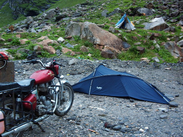 Night on Rohtang pass
