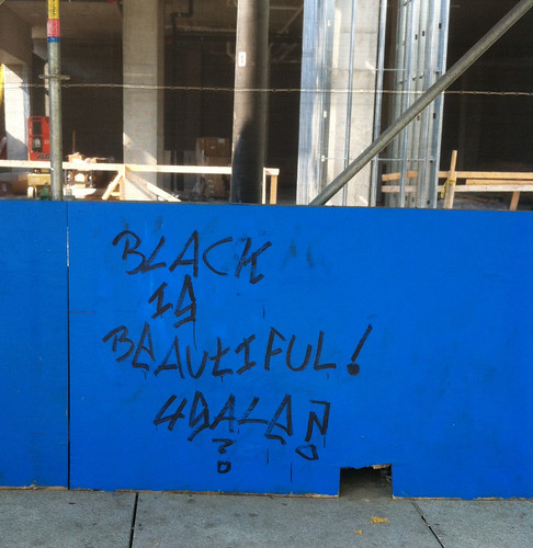 black is beautiful graffiti