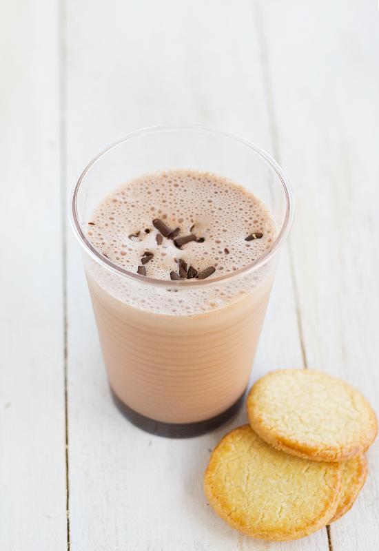 Batido de chocolate casero