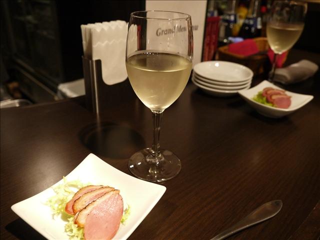 新橋ワイン食堂 NAGARE@6月29日 夕食