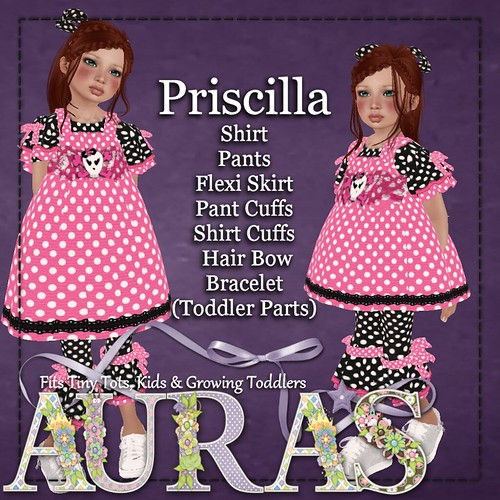 Priscilla for Kids & Tiny Tots by AuraMilev