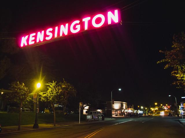 Kensington is a nice area...