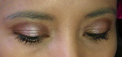 Chocolate Truffles eye makeup look