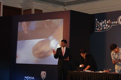 The art of cutting your fingers without cutting the onions ..#NokiaAppTasting by firoze shakir photographerno1