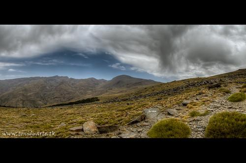 Panoramica del Mulhacén y Veleta