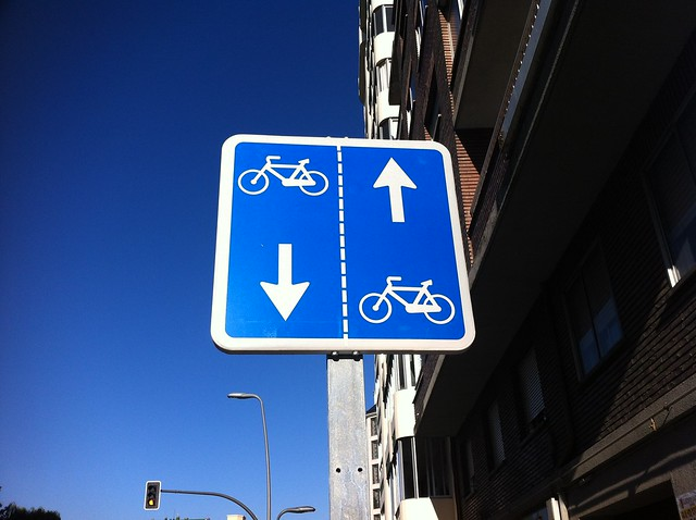 Carril-bici normal