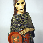 La Catrina - Courtesy of the Abarca Family Collection, Photo by René Atchison
