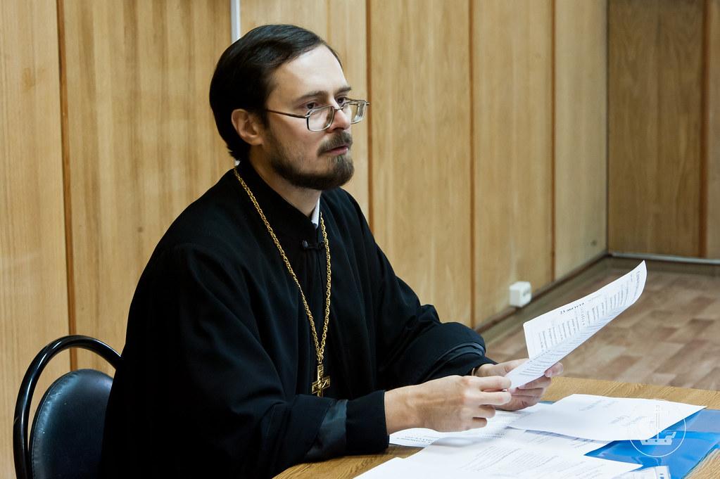 Проректор по учебной работе, заведующий кафедрой церковно-практических дисциплин