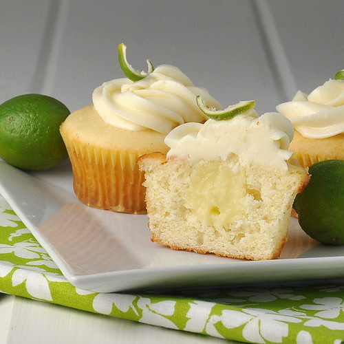 Key Lime Cupcakes – The Way to His Heart