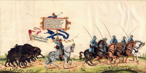 008-Triunfo del Emperador Maximiliano I…1700-Copyright Biblioteca Nacional de España