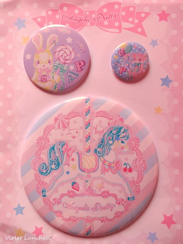 angelic pretty buttons (sugary carnival / toy parade)