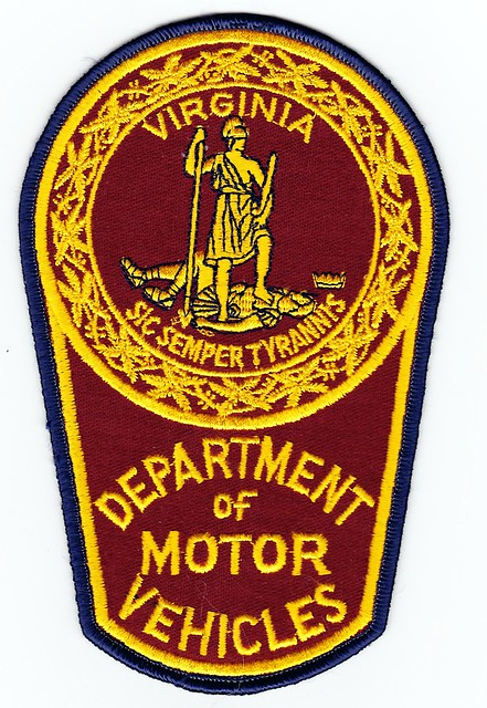 Va virginia department of motor vehicles enforcement for Virginia motor vehicle department