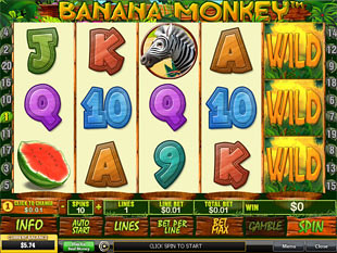Banana Monkey Slot Machine