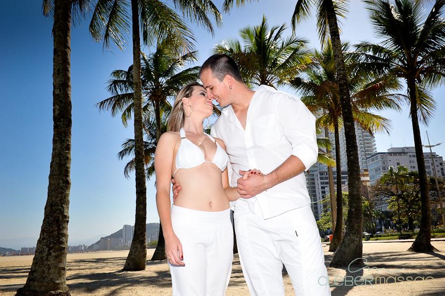 Lais e Diego E-session na praia de Santos-15