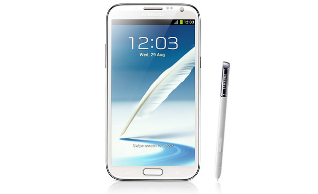 Samsung Galaxy Note II - Marble White