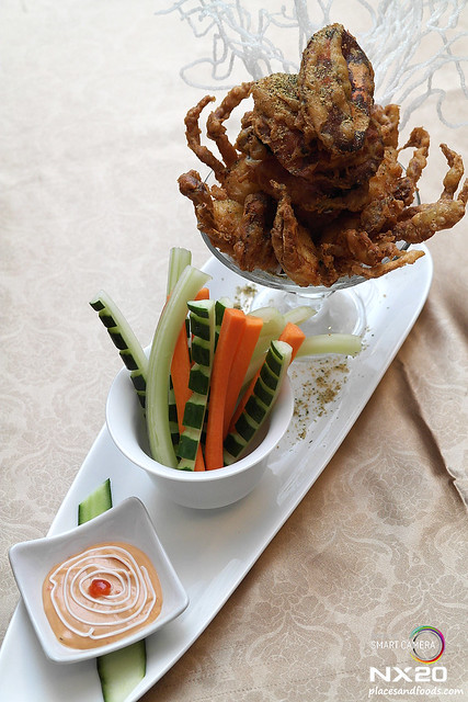tai thong deep fried soft shell crab