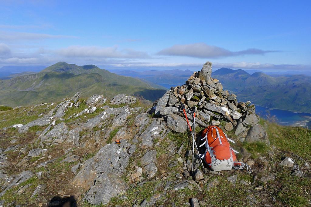 Summit of Luinne Bheinn
