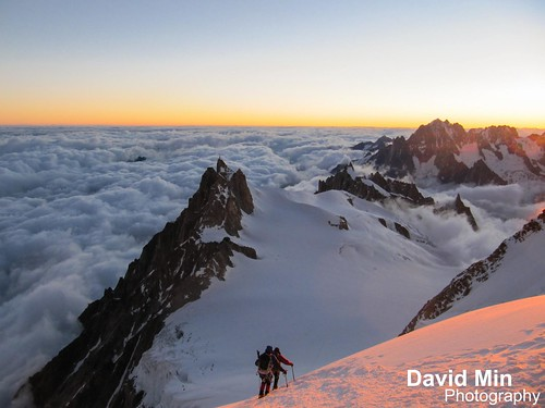 Chamonix, Mont-Blanc - Above the Clouds @Sunrise