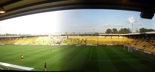 East Stand, Almondvale Stadium, Livingston