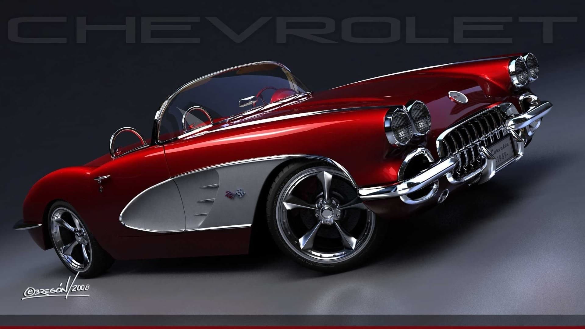 Motorcycle Tire Sizes >> 1959 Corvette Roadster Resto-Mod | Flickr - Photo Sharing!