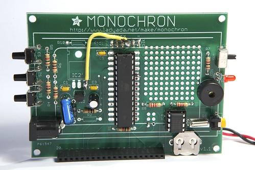 Monochron mods (front)